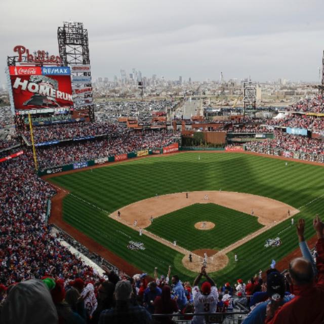 Watch a Phillies Baseball Game at Citizens Bank Park