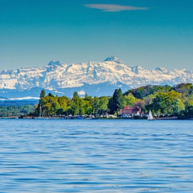 Sailing on Lake Constance