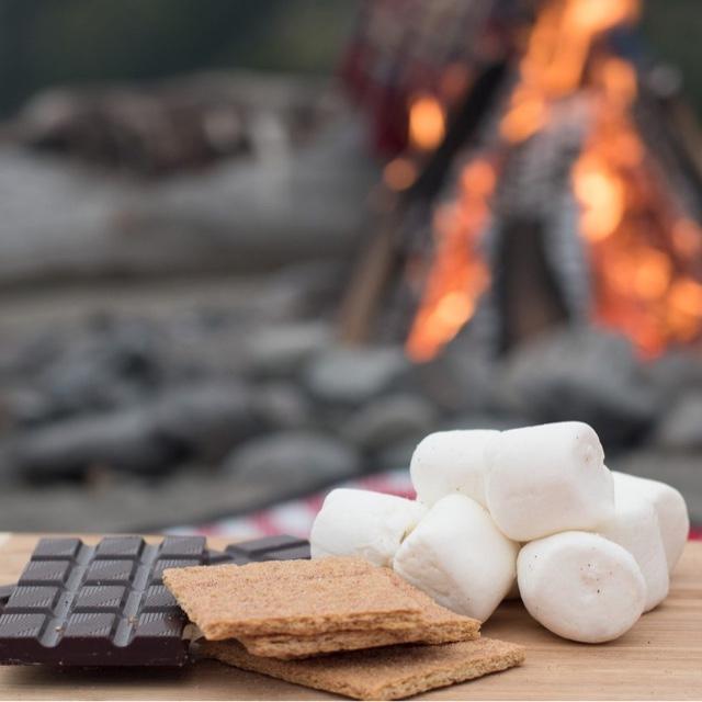 Make S'mores over a Campfire