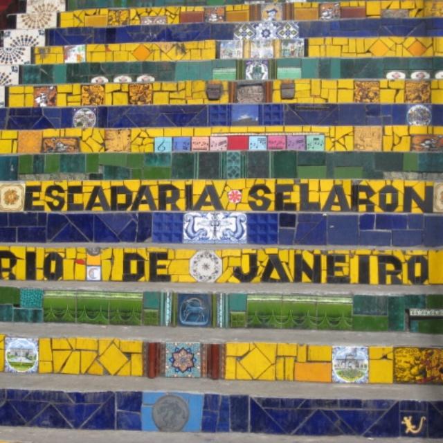 Escadaria Selaron Mosaic Steps