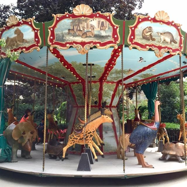 Ride the Dodo Carousel