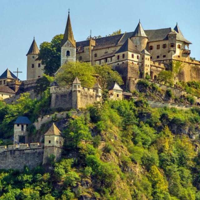 Burg Hochosterwitz a Medieval Castle