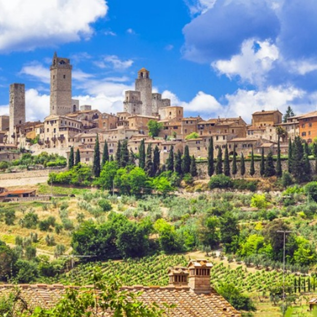 Bike Tour Through Tuscany
