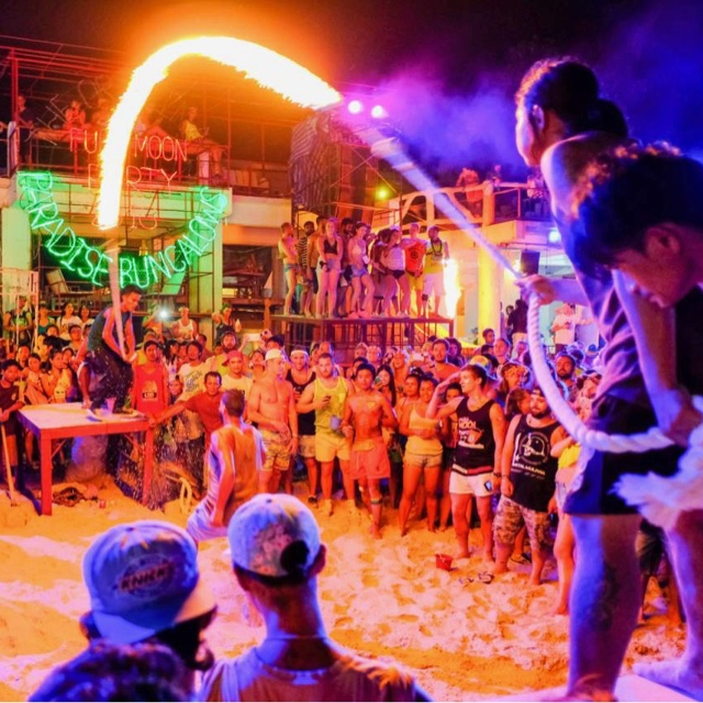 Dance all Night at the Full Moon Party