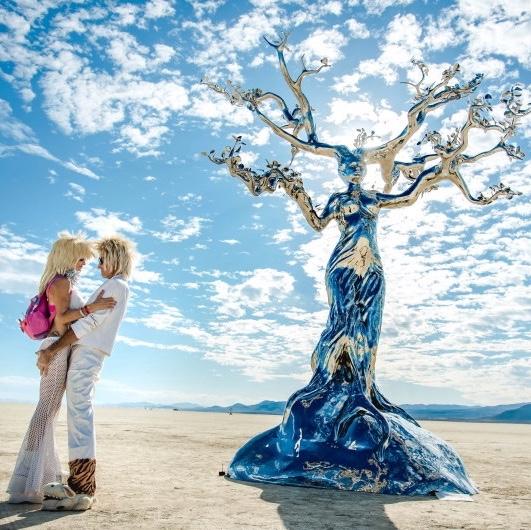 Attend Burning Man