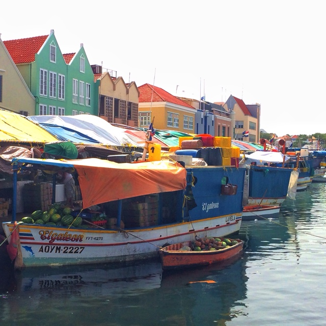 Floating Markets of Curacao