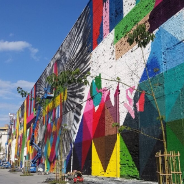 Largest Street Art Mural in the World