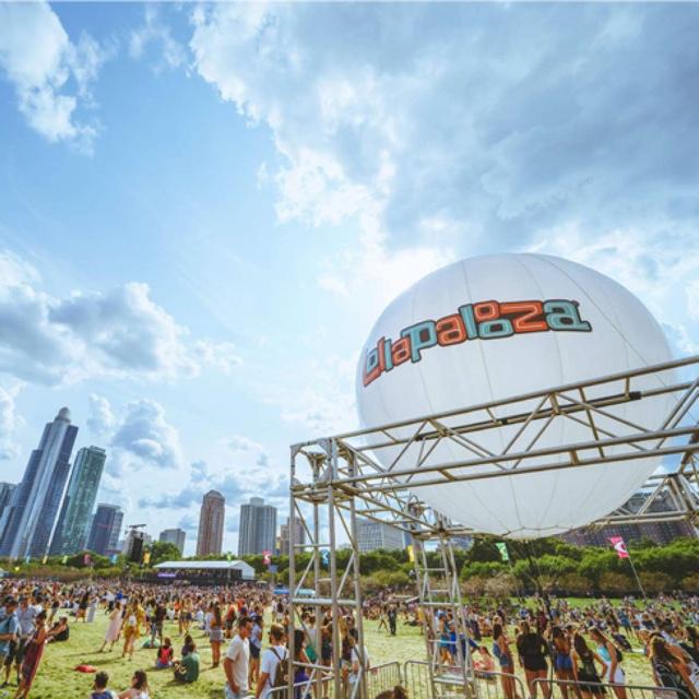 Experience Lollapalooza