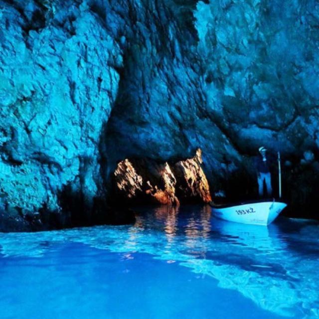 Visit the Blue Cave on Bisevo Island