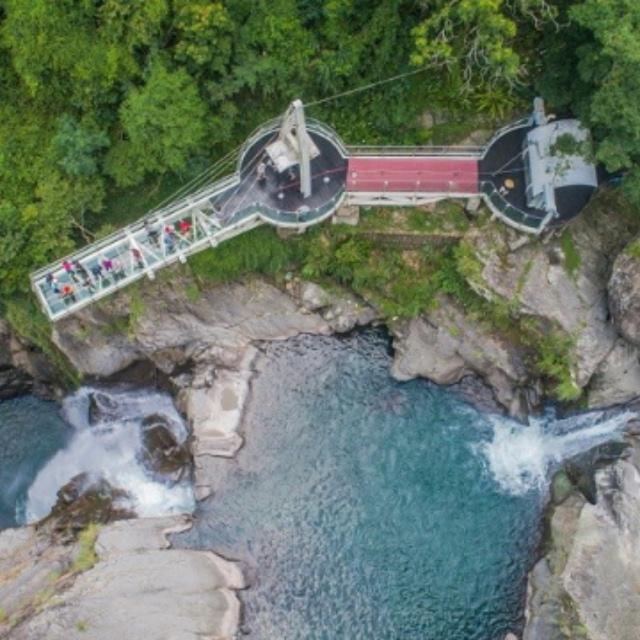 Xiao Wulai Waterfall Skywalk