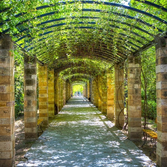 Stroll through the National Garden
