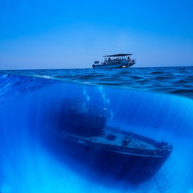 Scuba Dive the Kittiwake Shipwreck