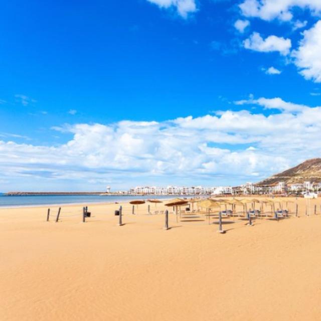 Beach at Agadir