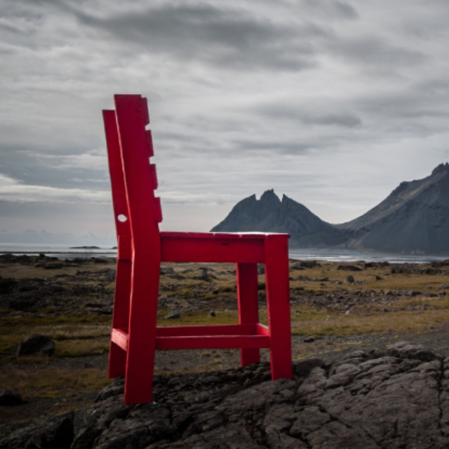 Red Chair of Iceland