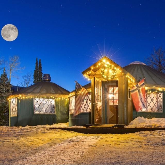 Five Star Dinner in a Yurt
