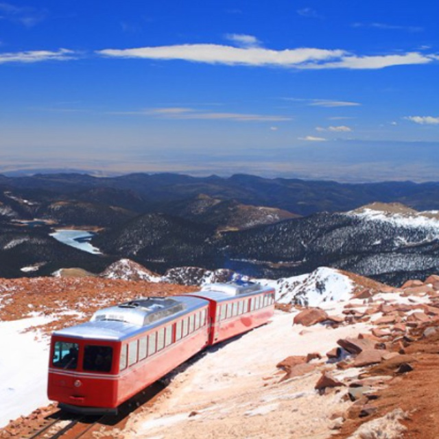 Pikes Peak in Pike National Forest
