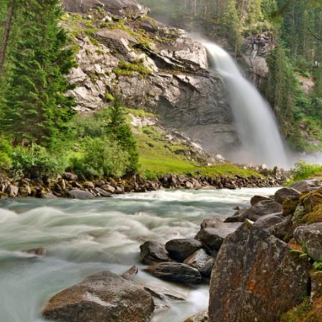 Krimmler Ache Waterfalls