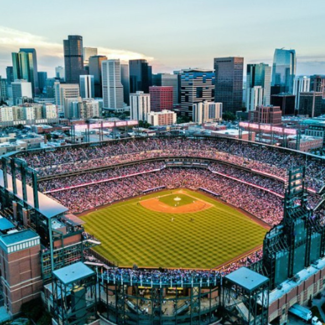 Attend a Baseball Game at Coors Field