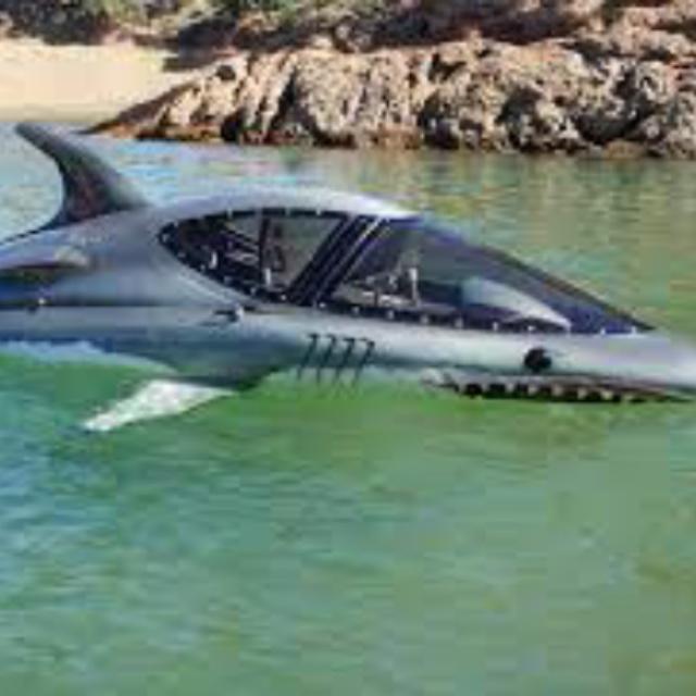 Ride in a Seabreacher