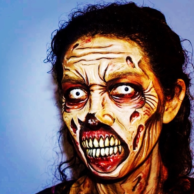 Attend Zombie Make Up School