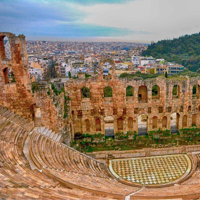 Watch a Play at the Herod Atticus Odeon Amphitheatre