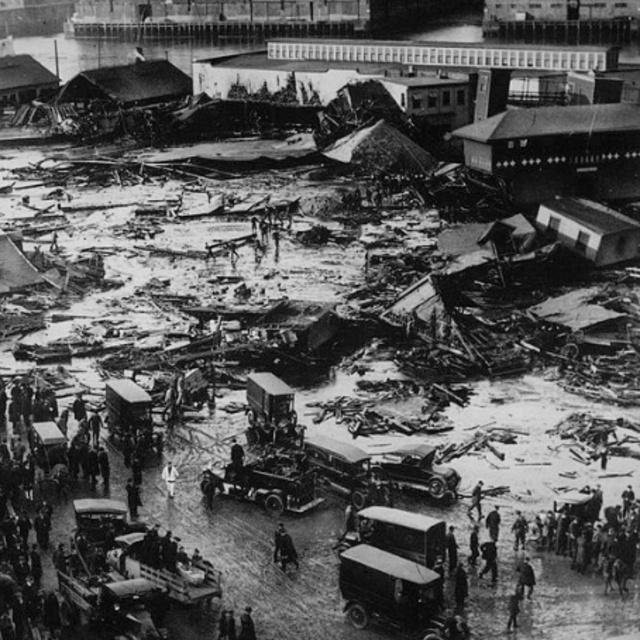 Site of Great Boston Molasses Flood