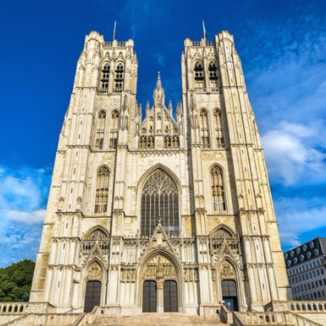 Saint Michel Cathedral in Brussels