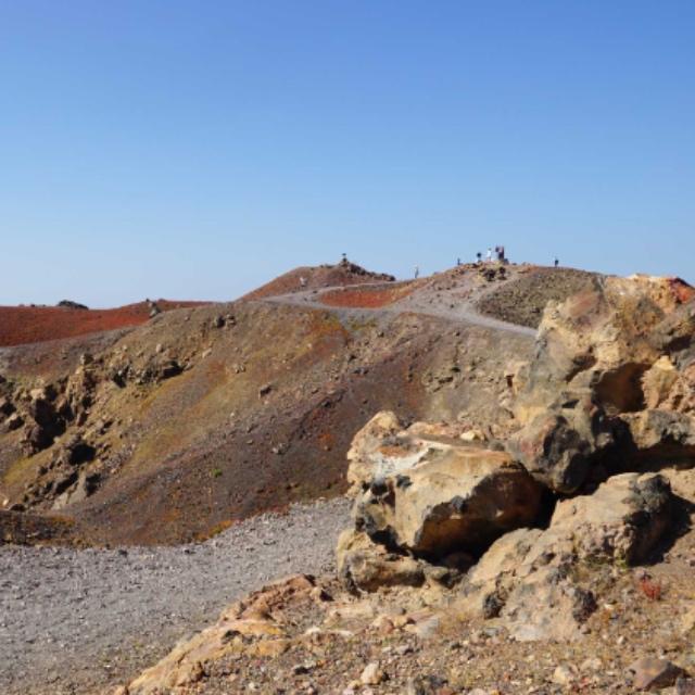 Nea Kameni Volcano Hike