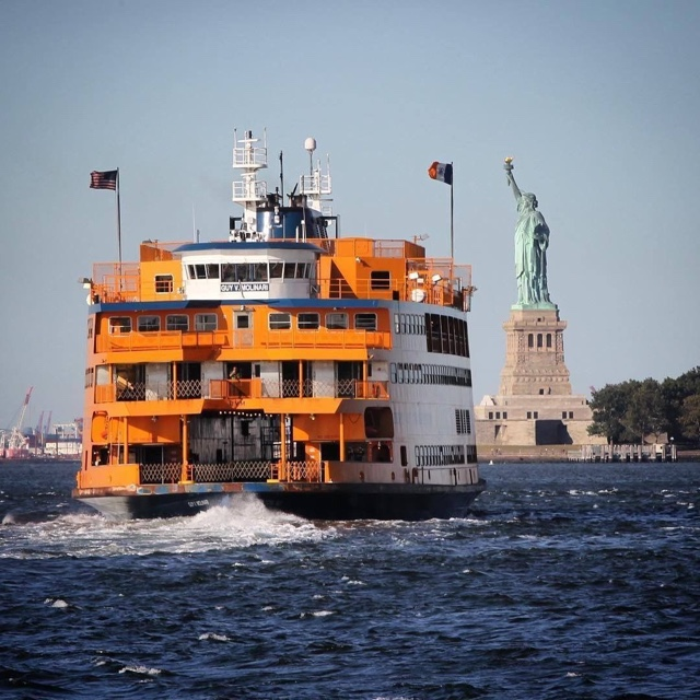 Ride the Ferry to See the Statue of Liberty