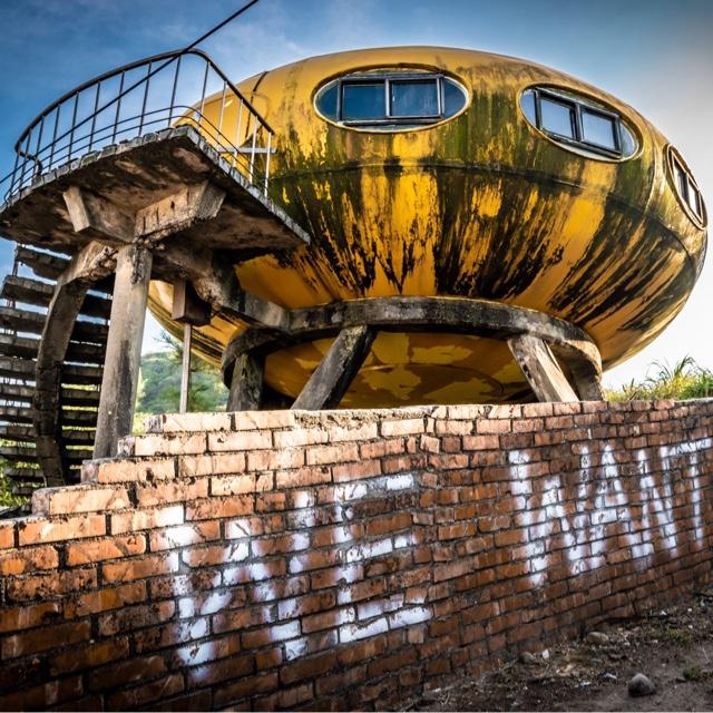 Visit the Wanli UFO Village