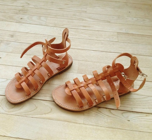 Get Sandals Made from the Poet Cobbler of Athens