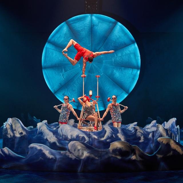 See a Cirque du Soleil Show