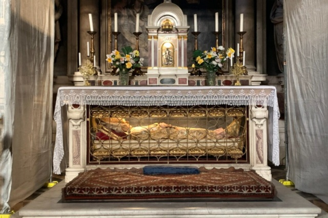 The Relic of St. Antoninus at Dominican Church of San Marco
