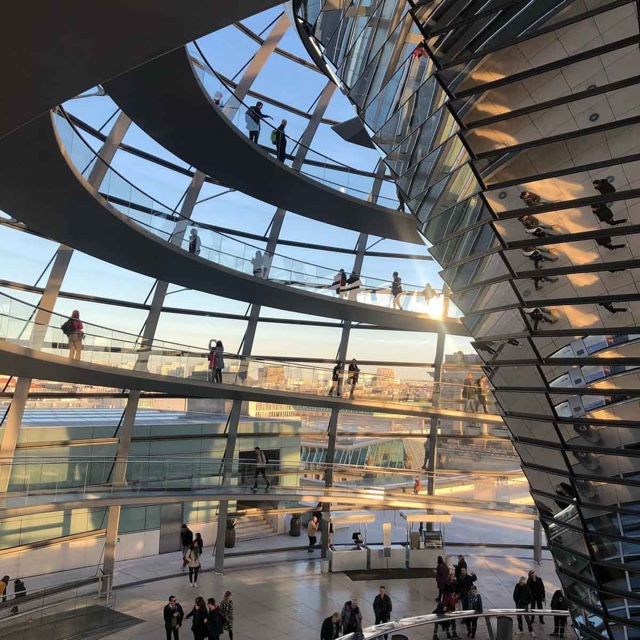Check Out the Reichstag's Glass Dome from the Inside