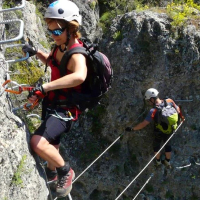 Climb Up the Iron Path in Cuenca