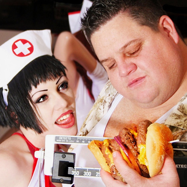Eat at the Heart Attack Grill
