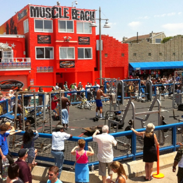 Work Out at Muscle Beach
