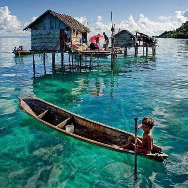 Visit the Moken Sea Gypsies