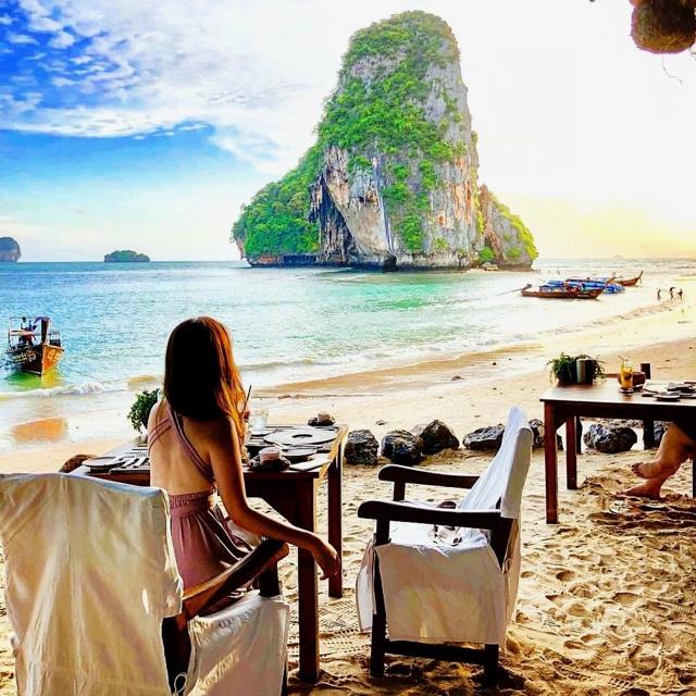 Dine at the Grotto at Phra Nang