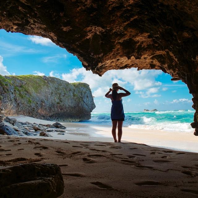 Explore Conch Bar Caves