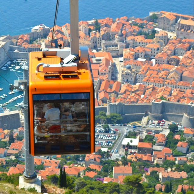 Ride Dubrovnik Cable Car