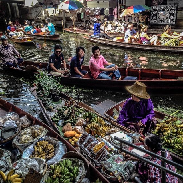 Shop at the Damnoen Saduak Floating Market