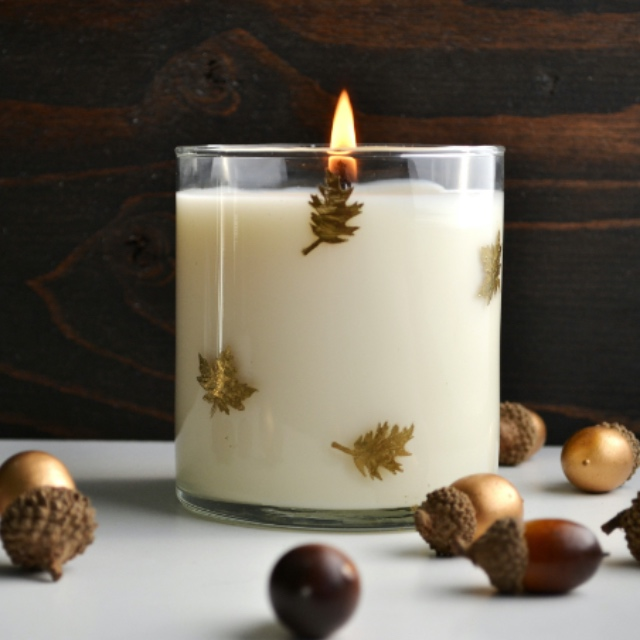 Make Your Own Fall Candle