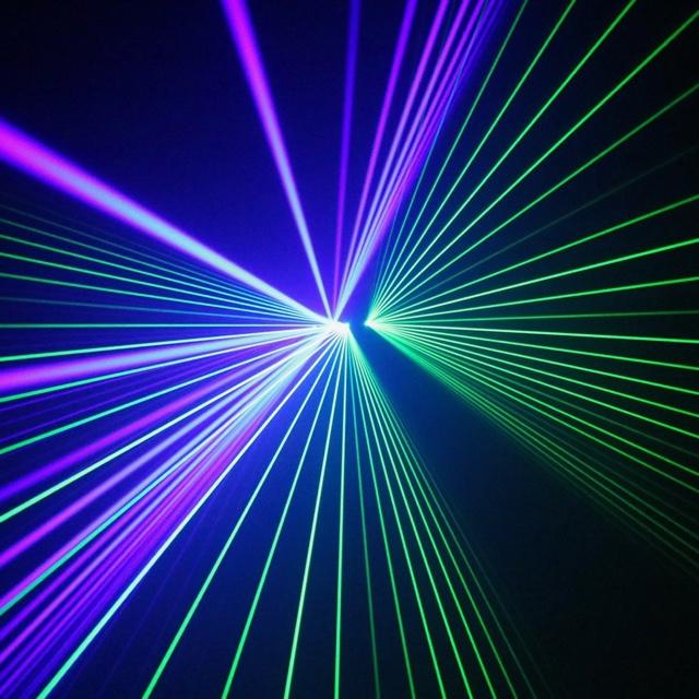 Laser Show Clark Planetarium