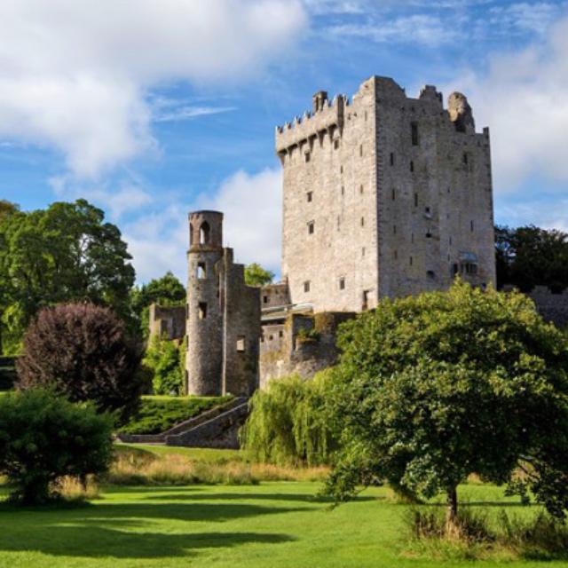 Kiss the Blarney Stone at Blarney Castle