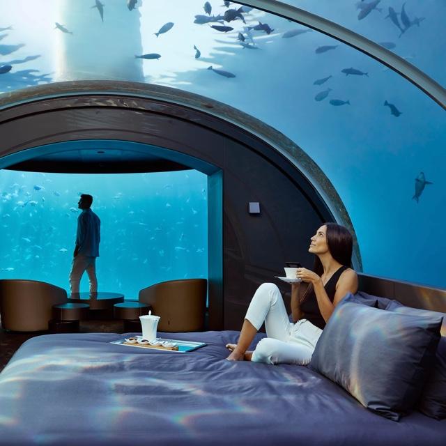 Stay in a Underwater Hotel