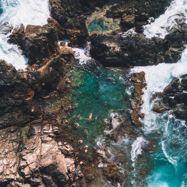 Swim in the Conchi Natural Pool