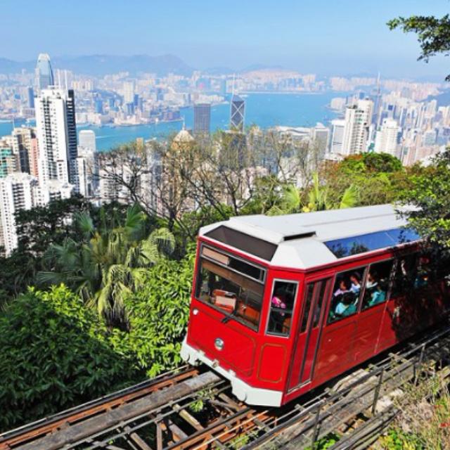 Ride the Peak Tram