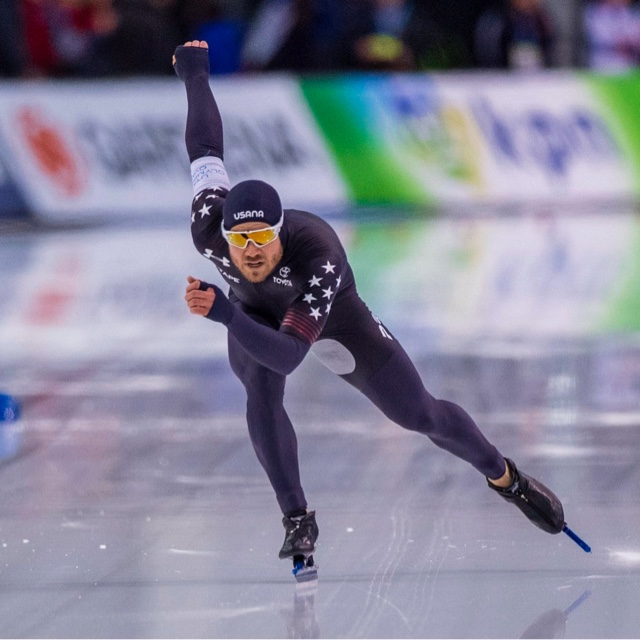 Skate the Fastest Ice on Earth