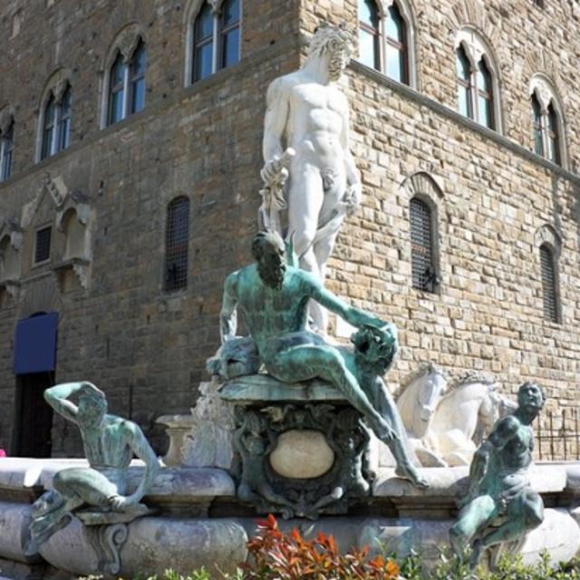 Neptune Fountain at Piazza della Signoria